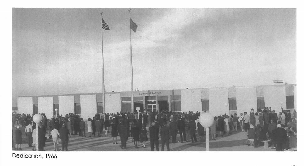 Dedication of NMJC in 1966
